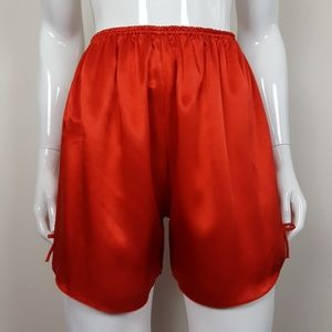Vintage Red Bow Sleep Shorts